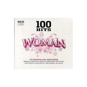 V.A. - 100 HITS WOMAN (5CD) 5xCD UK 2011年リリース|freaksrecords