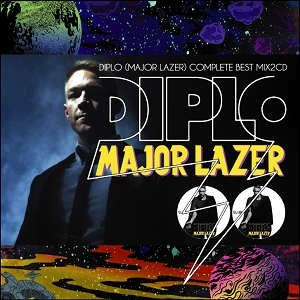 TAPE WORM PROJECT - DIPLO (MAJOR LAZER) COMPLETE BEST MIX (2CD) 2xCD JPN 2016年リリース|freaksrecords