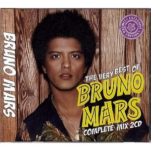 VARIOUS ARTISTS - BRUNO MARS COMPLETE BEST MIX (2CD) 2xCD JPN 2014年リリース|freaksrecords