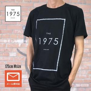 The 1975  Tシャツ ジャケット ロゴ UK ブラック メール便 送料無料 ロックTシャツ バンドTシャツ free-style