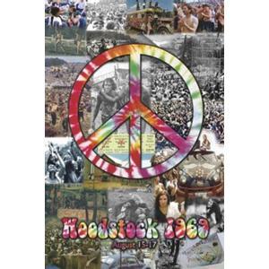 ロックポスター Woodstock 1969 写真 コラージュ LIVE|free-style