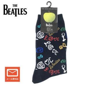 The BEATLES ビートルズ ソックス 靴下 LOVE グレーソックス レディースソックス 女性用靴下 誕生日プレゼント プレゼント ラッピング無料 送料無料|free-style