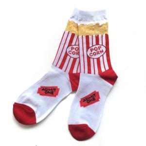 Popcorn ポップコーン ソックス 靴下 ソックス レディースソックス 女性用靴下 誕生日プレゼント プレゼント ラッピング無料 送料無料|free-style