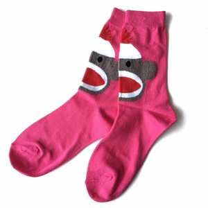 Sock Monkey ソックス 靴下 ソックス レディースソックス 女性用靴下 誕生日プレゼント プレゼント ラッピング無料 送料無料|free-style