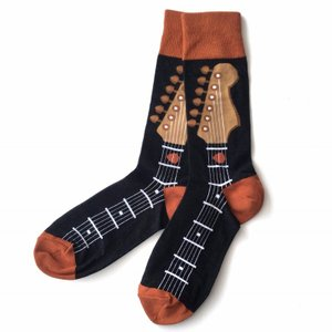Guitar Neck ギター ソックス 靴下 カラフル ソックス メンズソックス 男性用靴下 誕生日プレゼント プレゼント 送料無料|free-style