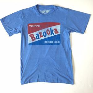 Bubble Gum Bazooka Tシャツ ガム ブルーヘザー企業 キャラクターTシャツ 送料無料|free-style
