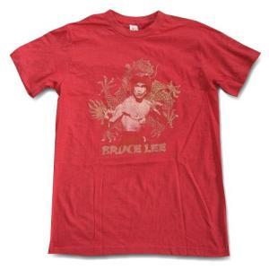 映画Tシャツ BRUCE LEE ブルース・リー Red Tシャツ|free-style