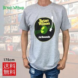 メール便 送料無料 BRIAN WILSON ブライアン・ウィルソン PET SOUND Tシャツ メンズ レディース 70's LIFE ロックTシャツ バンドTシャツ free-style