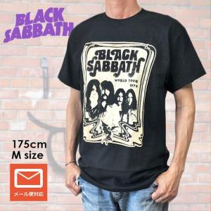 バンドTシャツ Black Sabbath ブラック・サバス Tシャツ WORLD TOUR 1978 メンズ ツアーTシャツ 送料無料 free-style