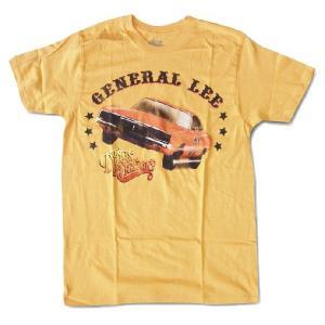 映画Tシャツ DUKES OF HAZZARD GENERAL LEE  Tシャツ オレンジ|free-style