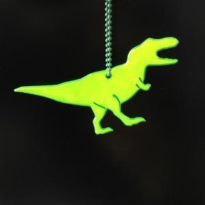 Glimmis  グリミス 恐竜 リフレクター キーホルダー ティラノサウルス 男の子北欧の交通 安...