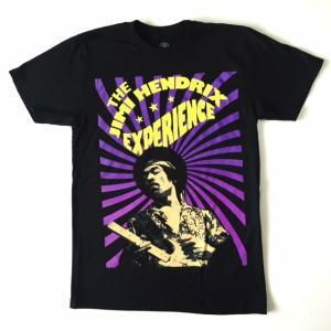 Jimi Hendrix ジミー・ヘンドリックス Tシャツ パープル スパイラル ブラック メンズ ロックTシャツ バンドTシャツ 送料無料|free-style