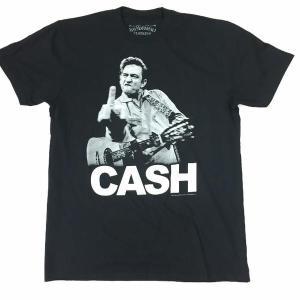 JOHNNY CASH ジョニー・キャッシュ Tシャツ F●CK YOU ブラック バンドTシャツ ロックTシャツ 送料無料|free-style