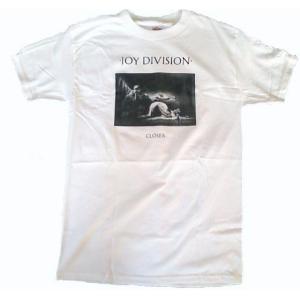 送料無料 メール便 JOY DIVISION ジョイ・ディヴィジョン Tシャツ CLOSER ホワイト メンズ バンドTシャツ ロックTシャツTシャツ|free-style