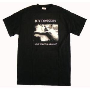 JOY DIVISION ジョイ・ディヴィジョン Tシャツ love will tear us apart ブラック メンズ バンドTシャツ ロックTシャツ 送料無料|free-style