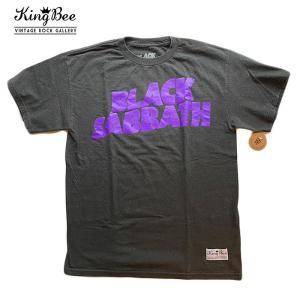 ビンテージ バンドTシャツ Black Sabbath ブラックサバス クラシックロゴ パープル ロックTシャツ Tシャツ 送料無料 free-style