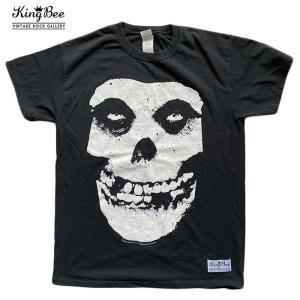 ビンテージ バンドTシャツ misfits ミスフィッツ クラシックロゴ スカル ロックTシャツ Tシャツ 送料無料 free-style
