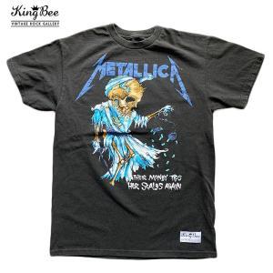 ビンテージ バンドTシャツ METALLICA メタリカ ロックTシャツ Tシャツ 送料無料 free-style