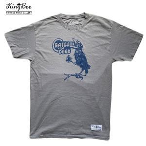 ビンテージ バンドTシャツ Grateful Dead カラス ロックTシャツ Tシャツ 送料無料 free-style