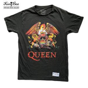 ビンテージ バンドTシャツ Queen クィーン 紋章 ロゴ ロックTシャツ Tシャツ 送料無料 free-style