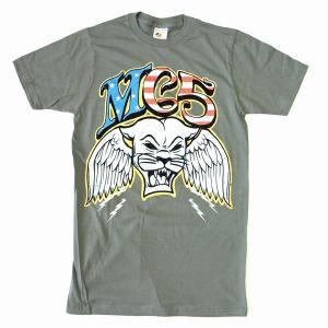 """MC5""""パンサー"""" グレー Tシャツ"""