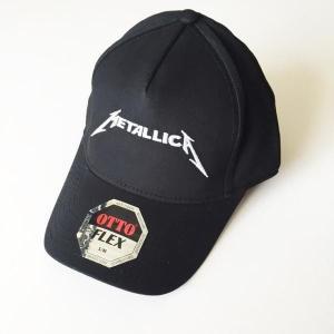 METALLICA メタリカ ロゴ ブラック ベースボールキャップ