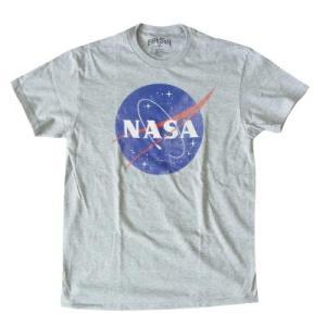 NASA ナサ Tシャツ ヴィンテージ ロゴ アメリカ限定 Tシャツ 送料無料|free-style