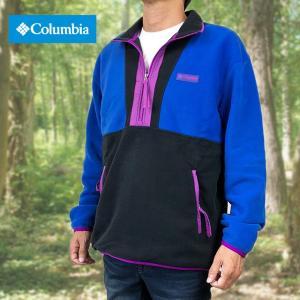 Columbia コロンビア ジャケット フリースジャケット メンズ プルオーバー 限定モデル CSCオリジナルズ プリンテッド フリース free-style