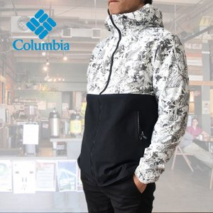 【NEW】コロンビア ジャケット Hazen Patterned Jacket ボタニカル柄 COLUMBIA PM3377 OMNISHIELD ジャケット レインウェア free-style