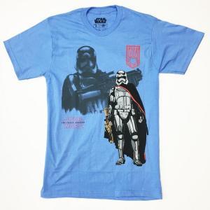 STAR WARS スター・ウォーズ Tシャツ フォースの覚醒 キャプテン・ファズマ メンズ 映画Tシャツ|free-style