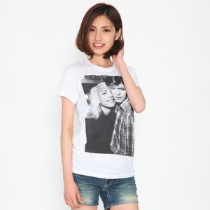 David Bowie デビッド・ボウイ & デビー・ハリー  Tシャツ レディース ロックTシャツ バンドTシャツ 送料無料|free-style