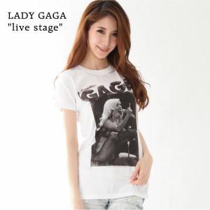 LADY GAGA  レディ・ガガ Tシャツ LIVE STAGE レディース ロックTシャツ バンドTシャツ 送料無料|free-style