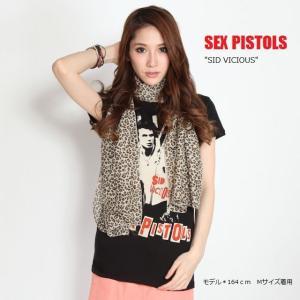 Sex Pistols・セックス・ピストルズ Tシャツ Sid Vicious シド・ビシャス レディース ロックTシャツ バンドTシャツ 送料無料|free-style