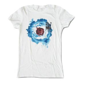 The Who ザ・フー  Tシャツ BLEED TARGET ホワイト モッズ レディース ロックTシャツ バンドTシャツ 送料無料|free-style