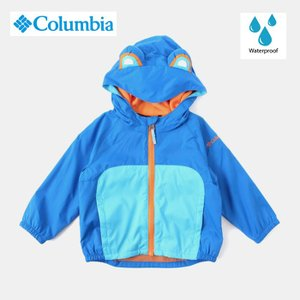 Columbia コロンビア 撥水 子供用 ハット UV対策 サイズ調整 キッターリビットジャケット free-style