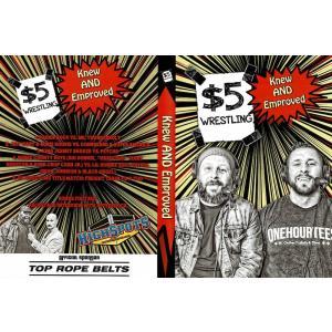 《現品特価》5ダラー・レスリング DVD「Knew And Emproved」アメリカ直輸入盤プロレスDVD《日本盤未発売》 freebirds