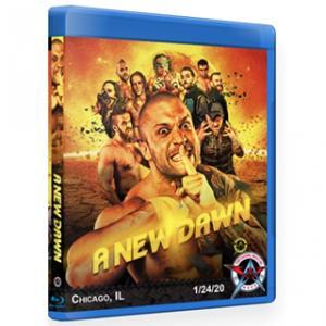 AAW ブルーレイ「A New Dawn」(2020年1月24日イリノイ州シカゴ)アメリカ直輸入盤《日本盤未発売》|freebirds