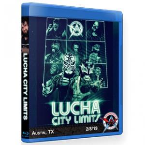 AAW ブルーレイ「Lucha City Limits」(2019年2月8日テキサス州オースチン)アメリカ直輸入盤《日本盤未発売》|freebirds