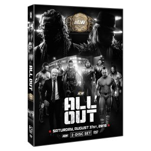 AEW 輸入盤DVD「All Out オール・アウト 2019《2枚組》」(2019年8月31日シカゴ)アメリカ直輸入盤《日本盤未発売》ケニー・オメガ対PAC戦収録|freebirds