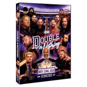 AEW 輸入盤DVD「Double Or Nothing ダブル・オア・ナッシング 2020《2枚組》」(2020年5月23日フロリダ)アメリカ直輸入盤 スタジアムスタンピード戦収録|freebirds
