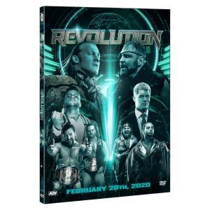 AEW 輸入盤DVD「Revolution レヴォリューション 2020」(2020年2月29日シカゴ)アメリカ直輸入盤《日本盤未発売》ヤングバックス対オメガ&ペイジ戦収録|freebirds