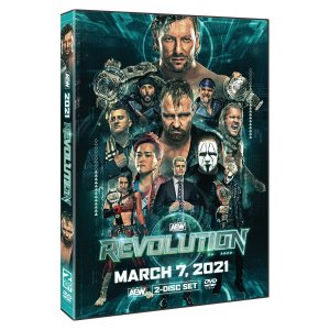 AEW 輸入盤DVD「Revolution レヴォリューション 2021《2枚組》」(2021年3月7日フロリダ)ケニー・オメガ対ジョンモクスリー電流爆破デスマッチ|freebirds