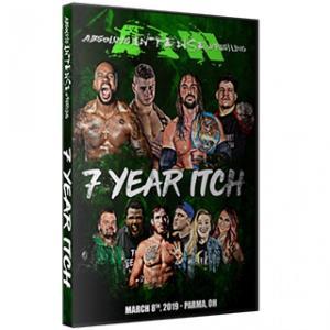 AIW DVD「7 Year Itch」(2019年3月8日オハイオ州パーマ)アメリカ直輸入盤DVD《日本盤未発売》|freebirds