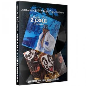 AIW DVD「Baby It's 2 Cold Outside」(2019年12月27日オハイオ州クリーブランド)《アメリカ直輸入盤プロレスDVD》|freebirds