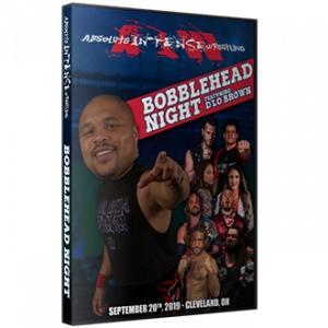 AIW DVD「Bobblehead Night」(2019年9月20日オハイオ州クリーブランド)《アメリカ直輸入盤プロレスDVD》|freebirds