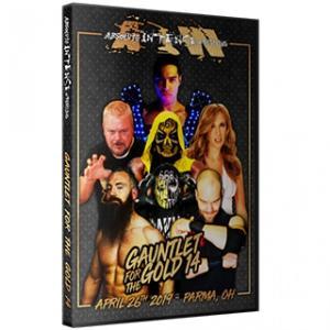 アメリカ直輸入盤プロレスDVD AIW DVD「Gauntlet For The Gold 14」(2019年4月26日オハイオ州パー マ)|freebirds