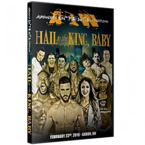 AIW DVD「Hail To The King, Baby」(2019年2月23日オハイオ州アクロン)アメリカ直輸入盤DVD《日本盤未発売》|freebirds