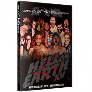 AIW DVD「Hell on Earth 15」(2019年11月29日オハイオ州クリーブランド)《アメリカ直輸入盤プロレスDVD》|freebirds
