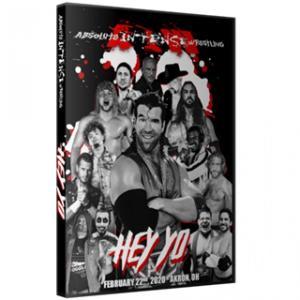 AIW DVD「HEY YO」(2020年2月22日オハイオ州アクロン)《アメリカ直輸入盤プロレスDVD》|freebirds