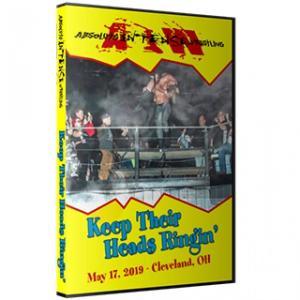 アメリカ直輸入盤プロレスDVD AIW DVD「Keep Their Heads Ringin」(2019年5月17日オハイオ州クリーブランド)|freebirds